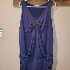 Maurices plus size 4 sleeveless top
